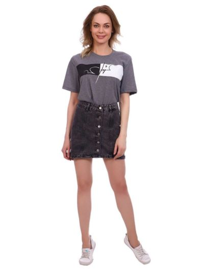 "12538715 1 400x533 - Blue hill ""denim skirt"""