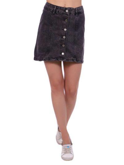 """12538715 3 400x533 - Blue hill """"denim skirt"""""""