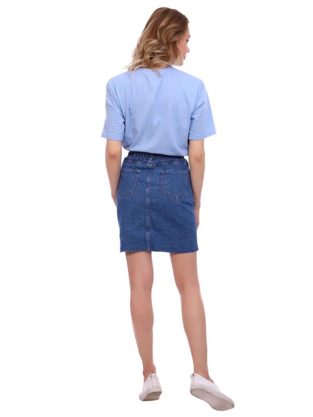 """12885 2 1 1000x1333 - Blue hill """"denim skirt"""""""