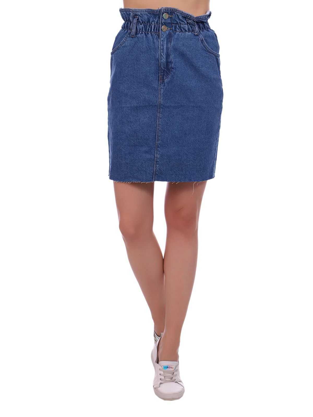 """12885 2 2 - Blue hill """"denim skirt"""""""