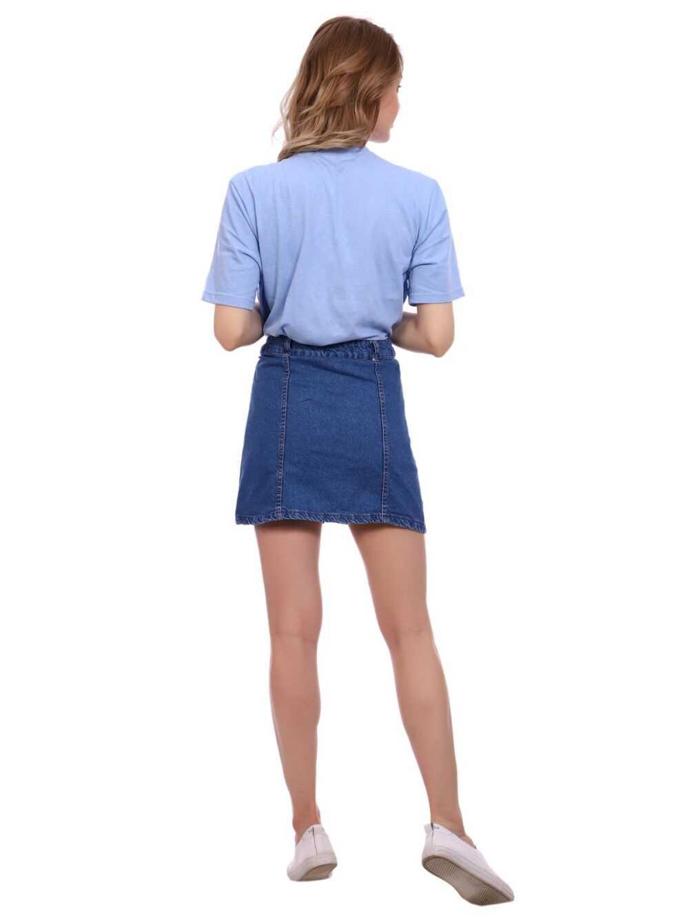 """IMG 5397 1 1000x1333 - Blue hill """"denim skirt"""""""