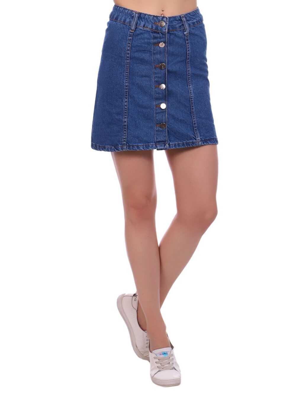 """IMG 5397 2 1000x1333 - Blue hill """"denim skirt"""""""