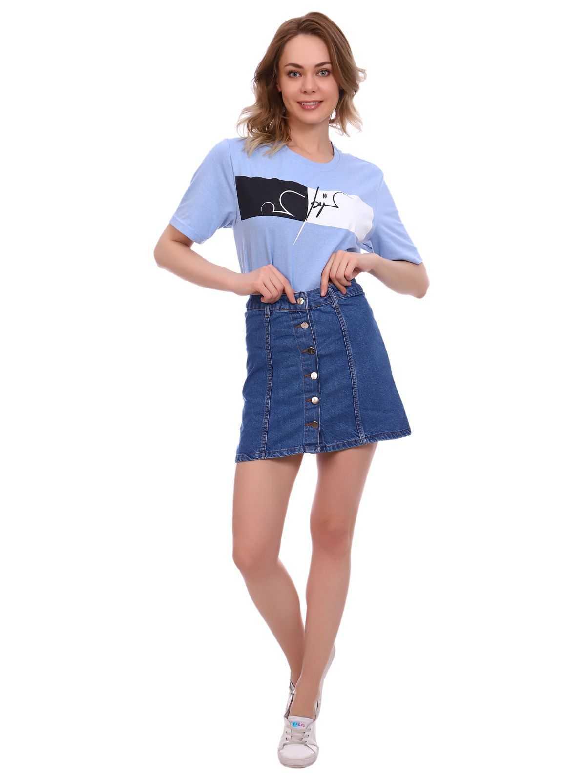 """IMG 5397 - Blue hill """"denim skirt"""""""