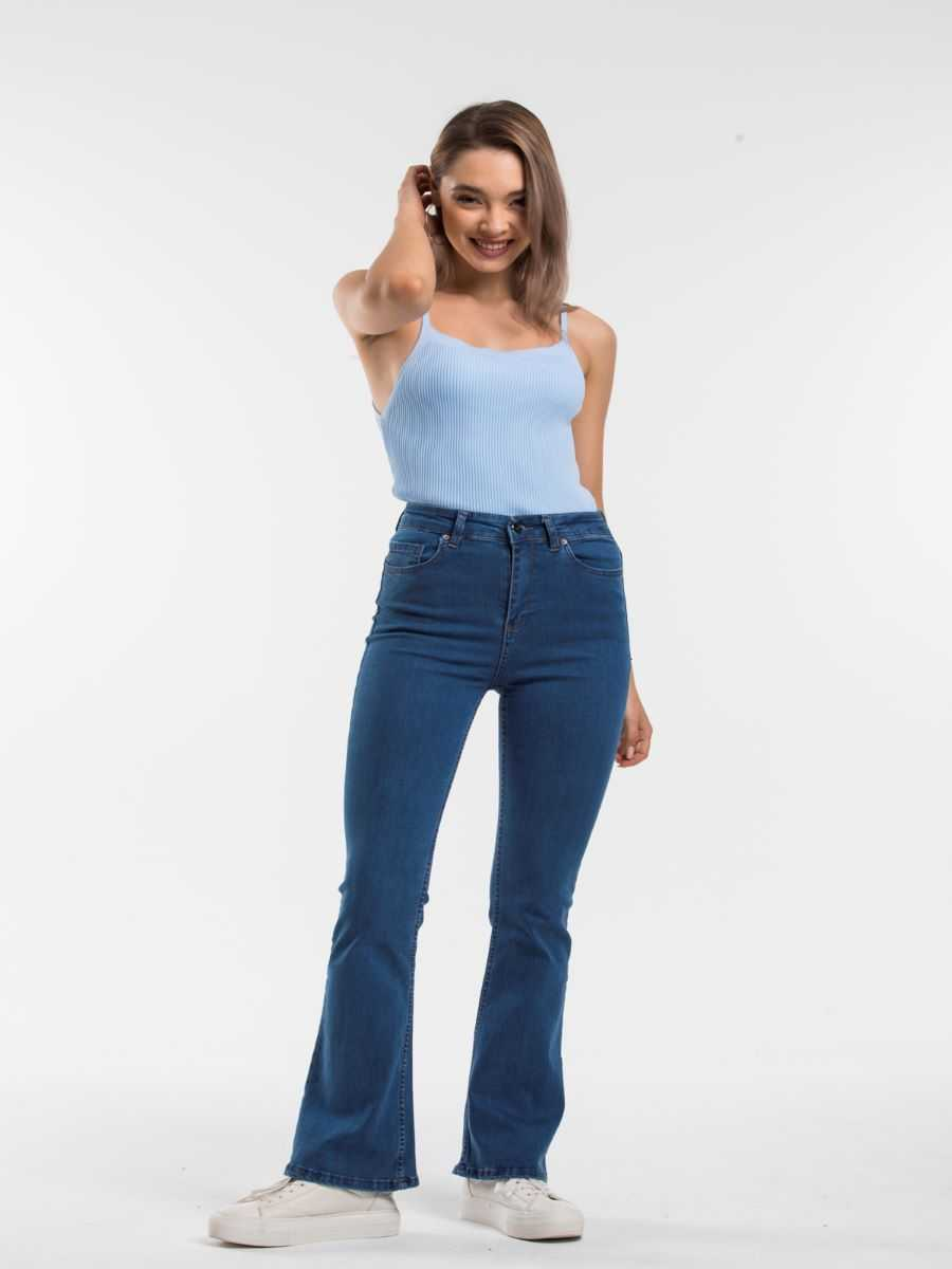 """049A8088 - Blue hill """"flared jeans"""""""