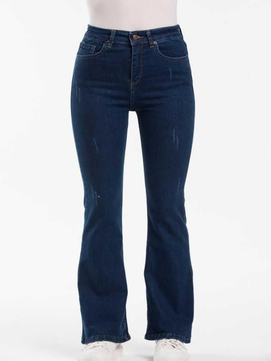 """2d72adb1 4f94 4063 b68d fbc8f87481fe - Blue hill """"flared jeans"""""""