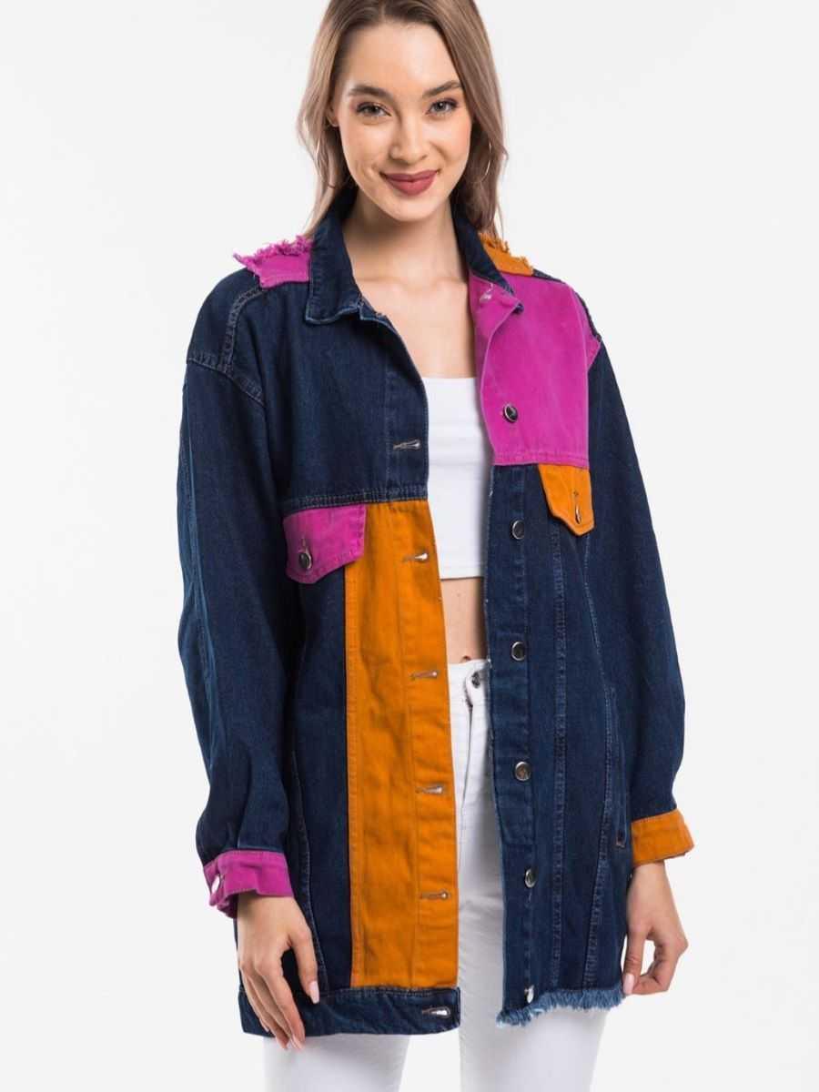 """bluehilljeans  image 23 11 2020 1 - Blue hill """"denim jacket"""""""