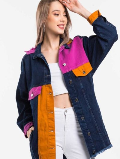 "bluehilljeans  image 23 11 2020 400x533 - Blue hill ""denim jacket"""