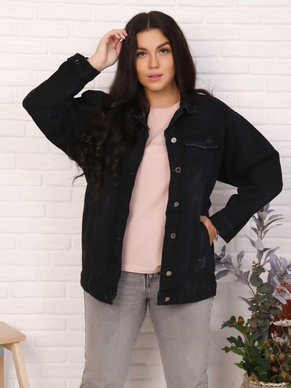 "IMG 5688 1000x1333 - Red Stop ""denim jacket"""