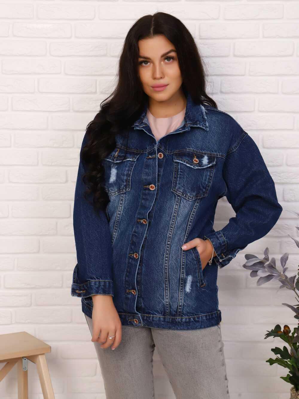 "IMG 5707 1000x1333 - Red Stop ""denim jacket"""