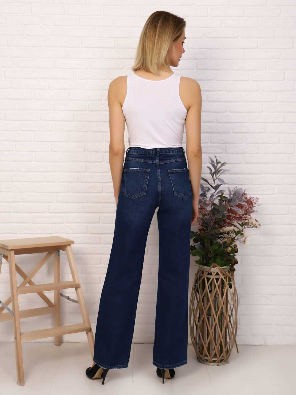 """IMG 5819 1000x1333 - Red Stop """"wide-leg  jeans"""""""