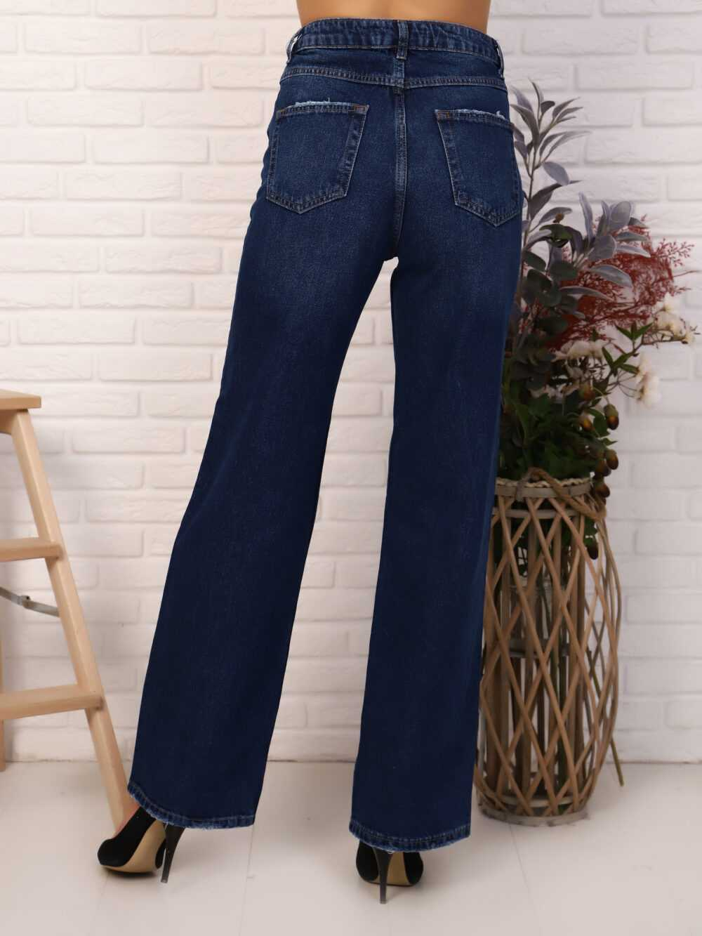 """IMG 5820 1000x1333 - Red Stop """"wide-leg  jeans"""""""