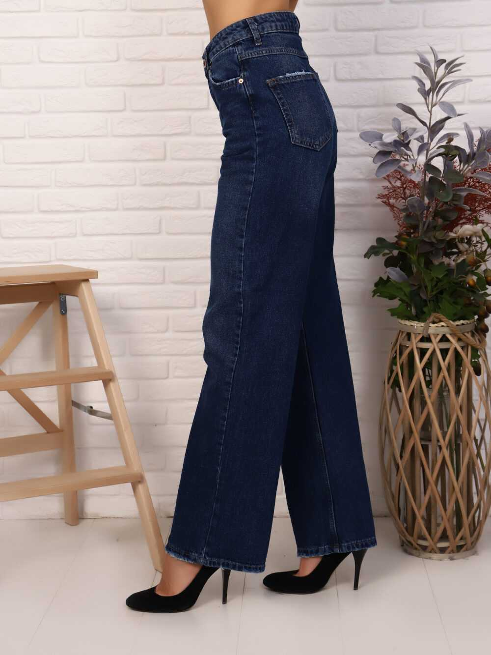 """IMG 5821 1000x1333 - Red Stop """"wide-leg  jeans"""""""