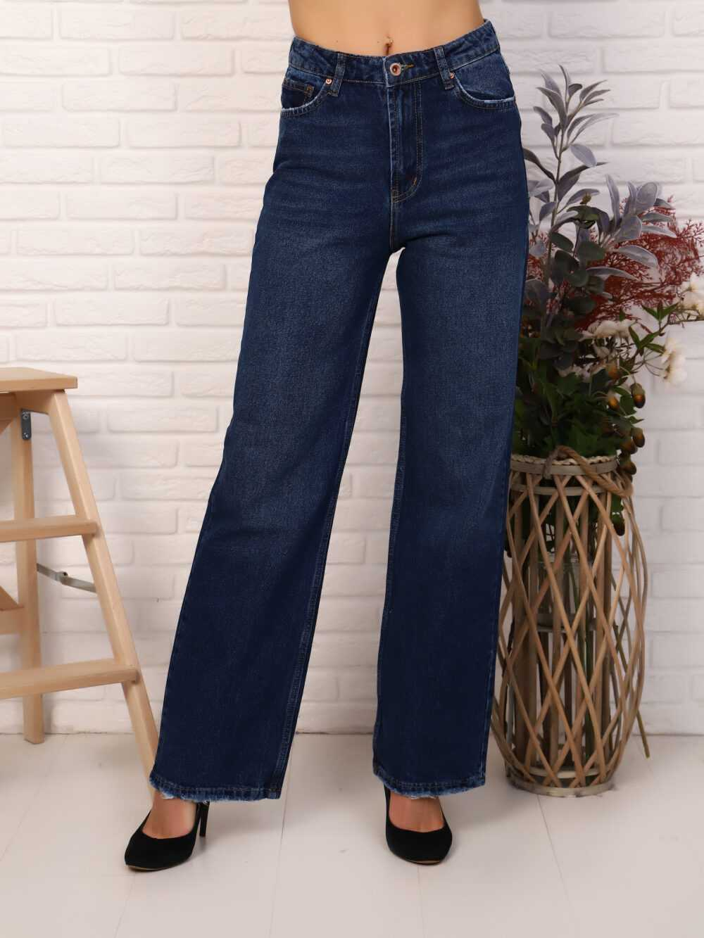 """IMG 5822 1000x1333 - Red Stop """"wide-leg  jeans"""""""