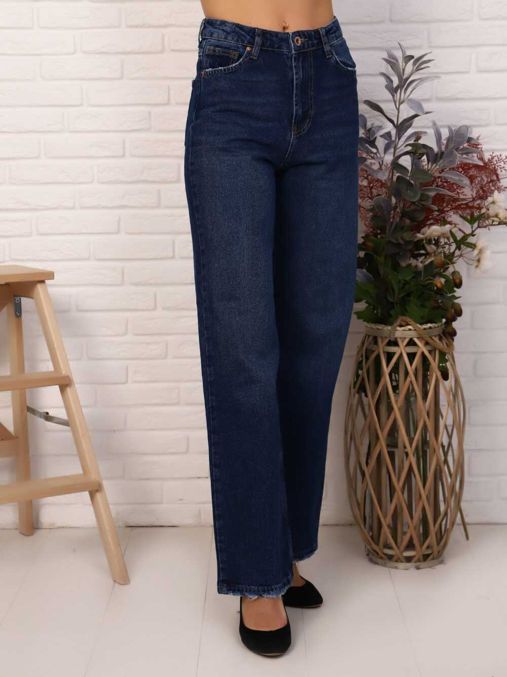 """IMG 5823 1000x1333 - Red Stop """"wide-leg  jeans"""""""