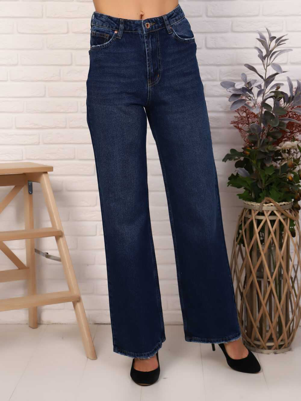 """IMG 5824 1000x1333 - Red Stop """"wide-leg  jeans"""""""