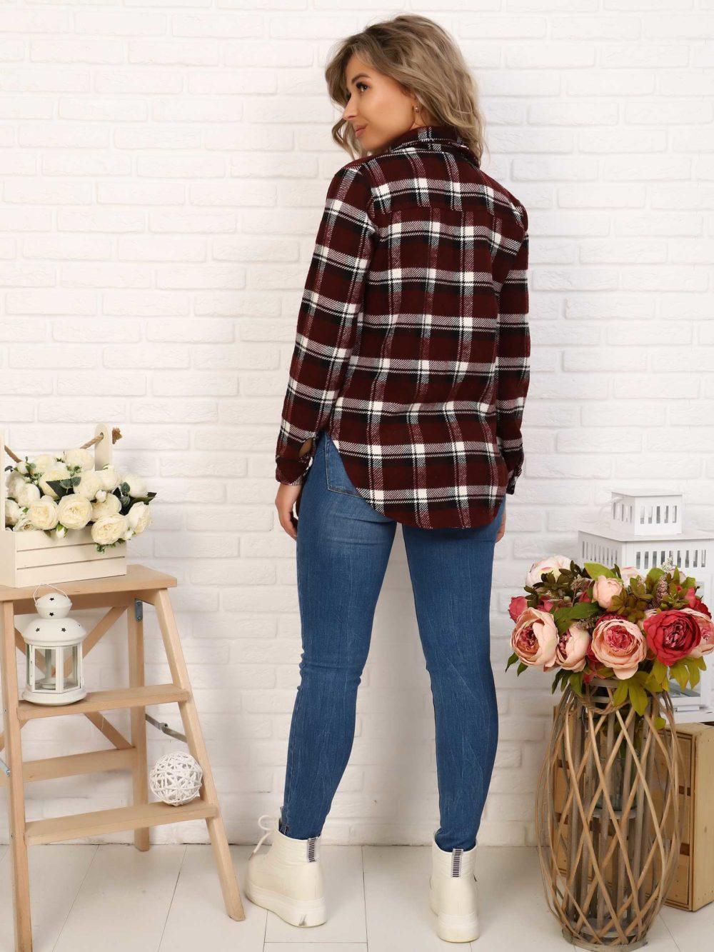 """IMG 7038 1000x1333 - Blue Hill """"Shirt"""" шоколад"""